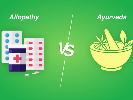 Ayurvedic vs Allopathy