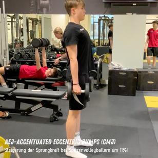 Sprunghöhensteigerung mit Accentuated Eccentric Jumps