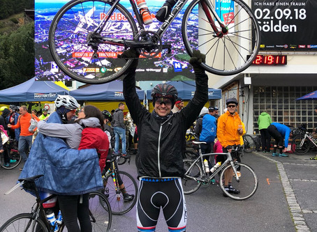HE DID IT! Andi schaffte einen der härtesten Radmarathons!