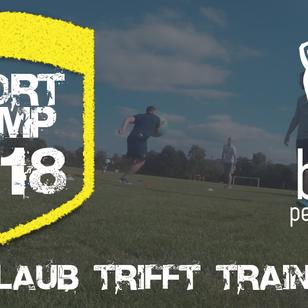 Sportcamps 2018 - dein Trainingslager!