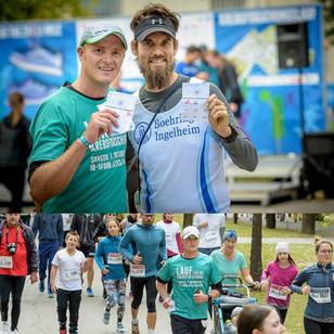 Markus läuft 44km beim Krebsforschungslauf 2017