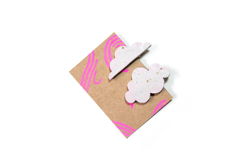 Head In The Clouds Clips - Pink