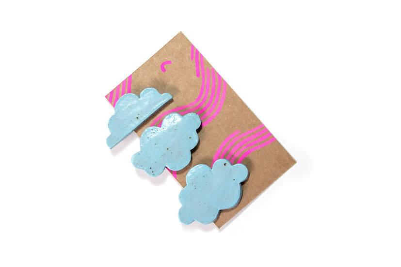 Head In The Clouds Clips - Blue