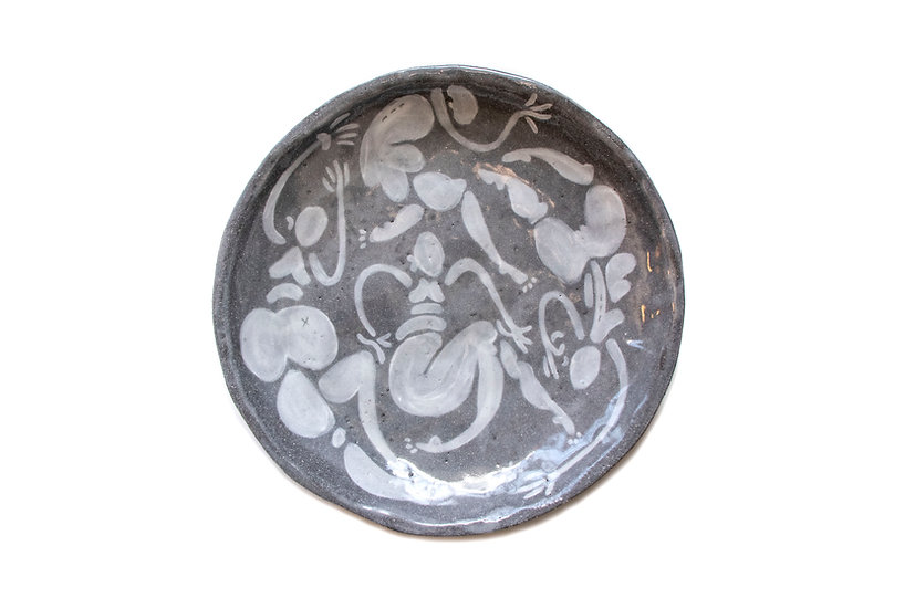 Belly Dancing Babes Plate - Black