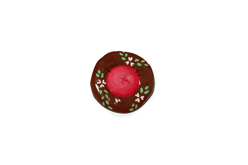 Nipple Pin - Dark, Floral