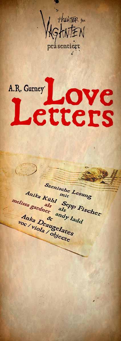 Love letters Plakat 2014