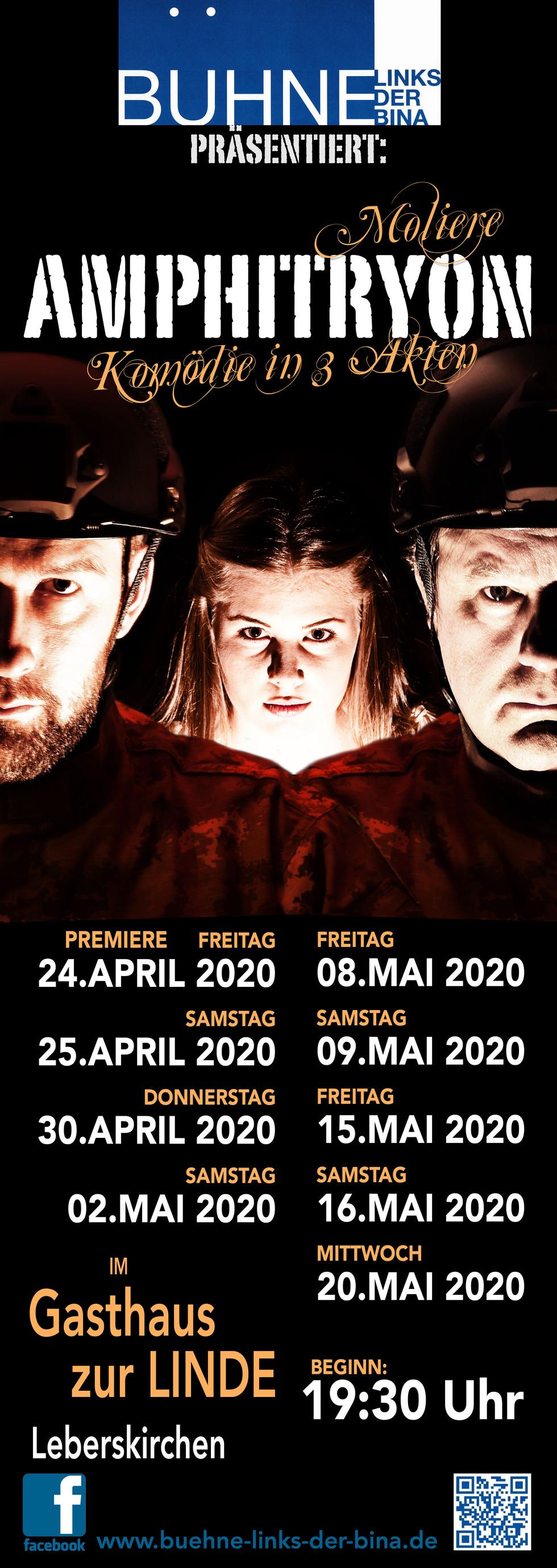 Plakat Amphitryon-BINA-2020