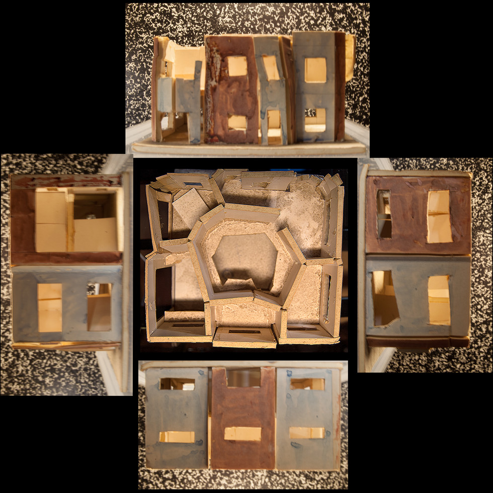 House of Concret Model