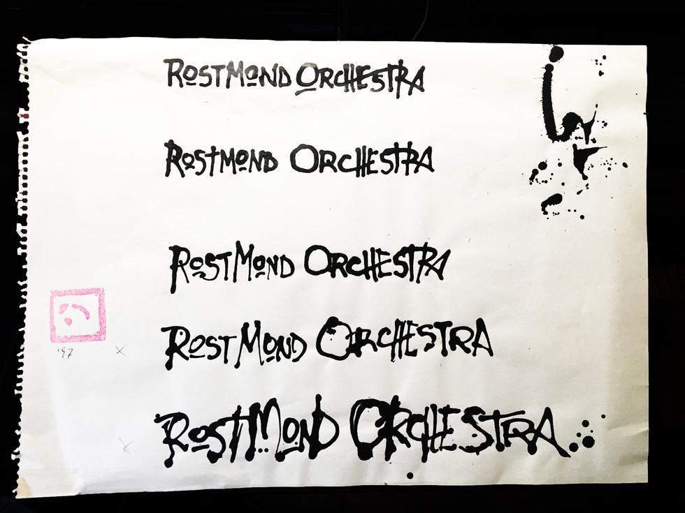RostMOndOrchestra _ Schriftzug