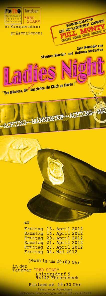 Full Monty Plakat 2012