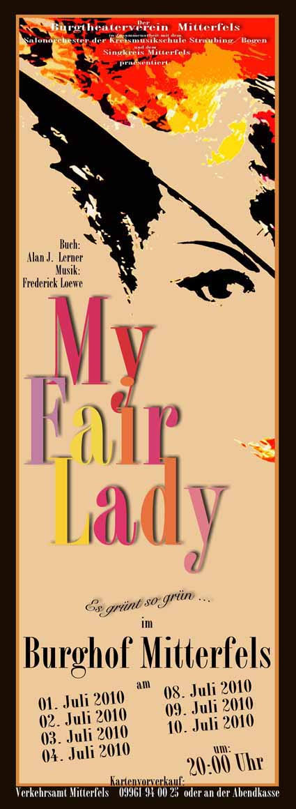 MyFairLady Plakat