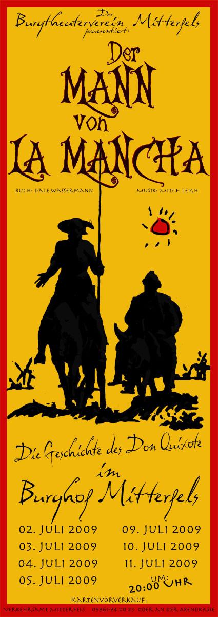 Der Mann von La Mancha Plakat