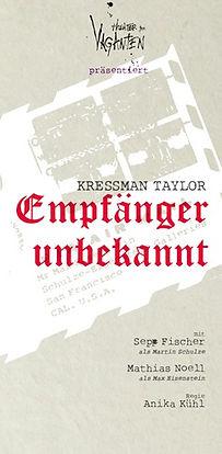 theater der vaganten, vaganten regensburg Sepp Fischer Anika Kühl Matthias Noell theater der vaganten