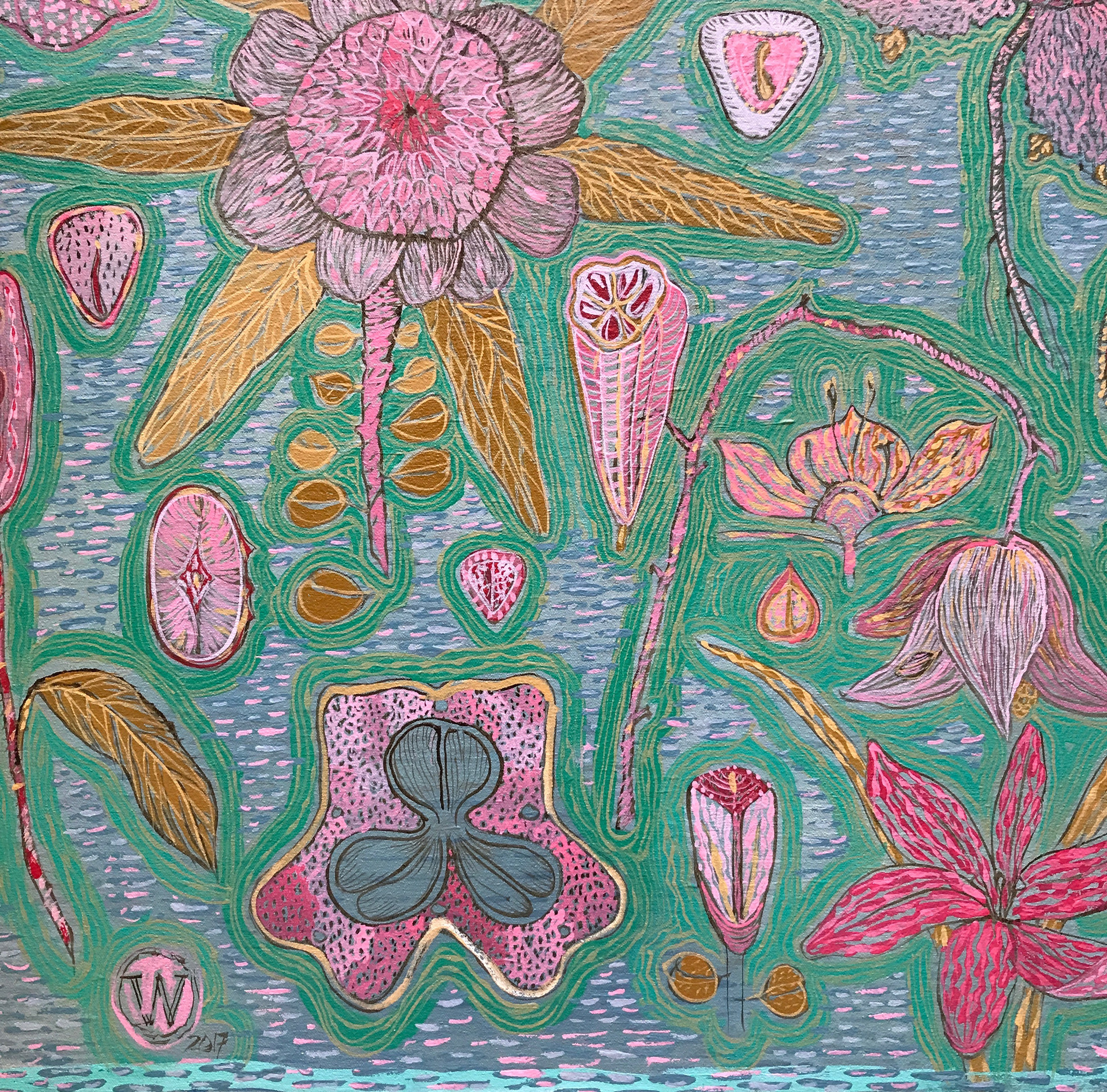 willemien de villiers | spring 2, detail |  POA