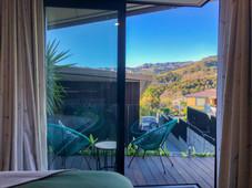 Bellbird Room View & Outdoor Seating   Newton Heights B&B