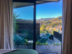 Bellbird Room View & Outdoor Seating | Newton Heights B&B