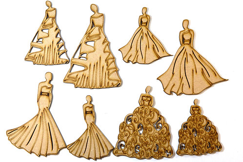 Belles of the Ball MDF figures