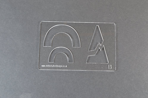 Acrylic Template - No.1