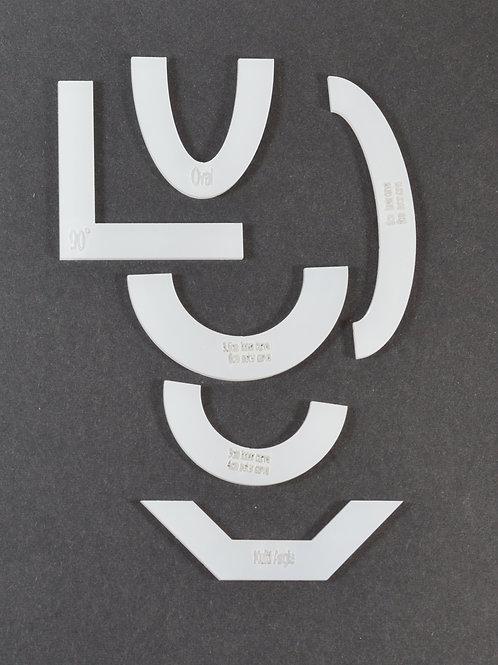 Angle/Curve Templates