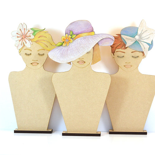 Ladies Day MDF display stands