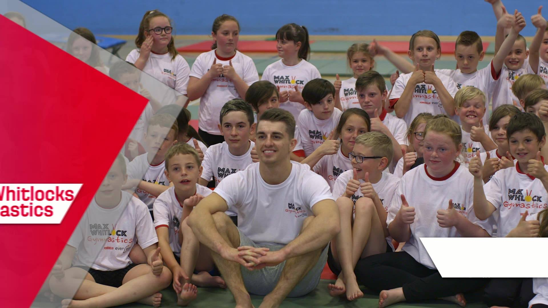 Max Whitlock Gymnastics - Powered by Everyone Active