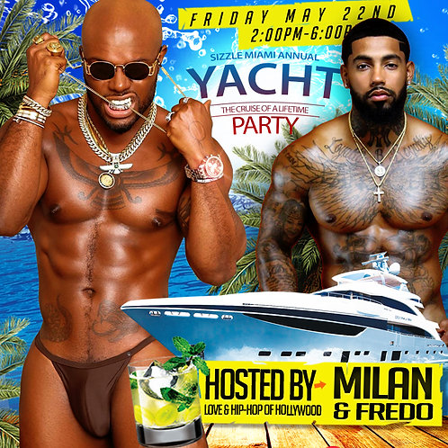 SIZZLE 2020 Yacht Party