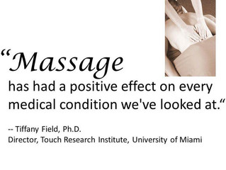 Massage can improve so many lives!