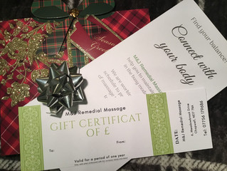 Christmas Gift Vouchers are here!