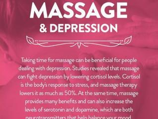 Feeling Down? Massage Can Help