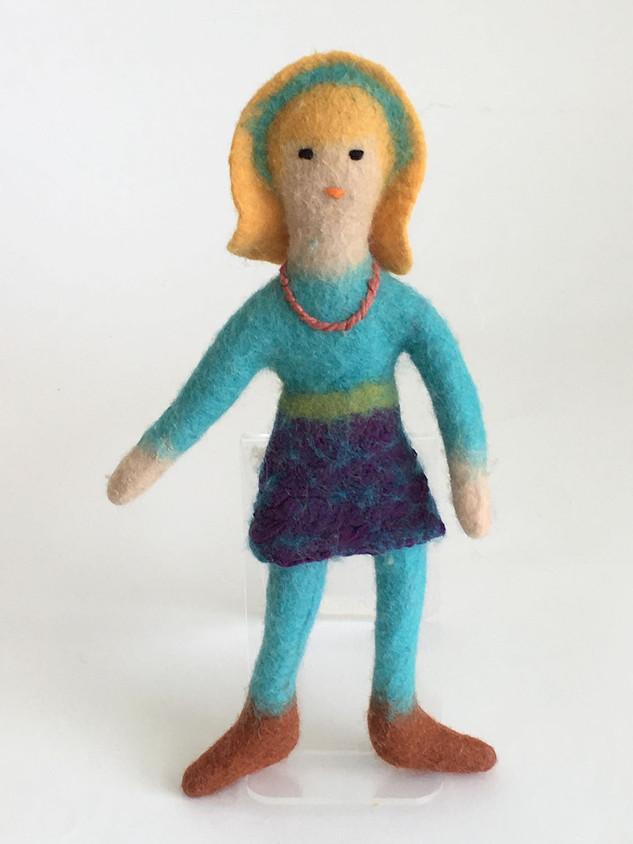 Blond with Headband Doll