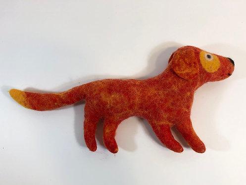4 Legged Red Dog