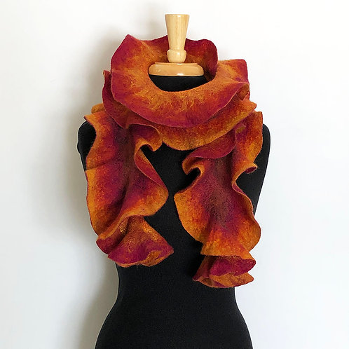 Flame Scarf