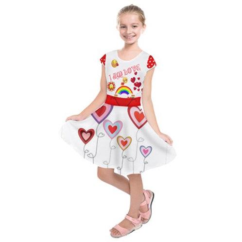 I AM LOVE - GIRLS SUMMER DRESS