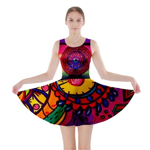 Summer fun colorful dress for teen