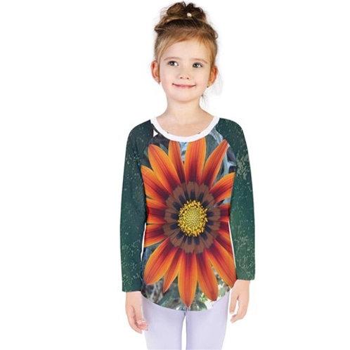 Flower Child Kids Long Sleeves Tee