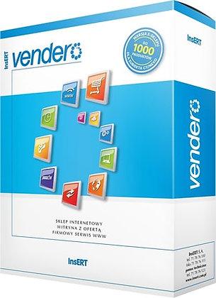 Witryna z ofertą Vendero 3000 produktów