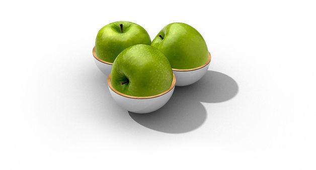 fabrice koukoui corbeille a fruits ronds