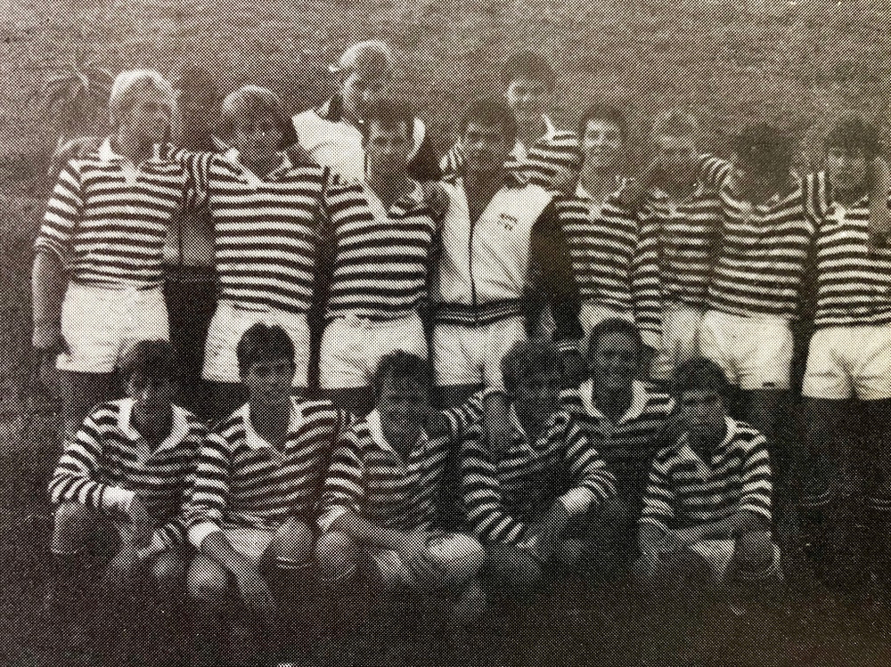 The Mr Jeppe contest was a fund raiser for our Natal rugby tour in April of 1985.