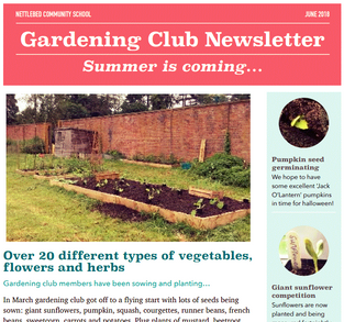Gardening Club are gearing up for summer!