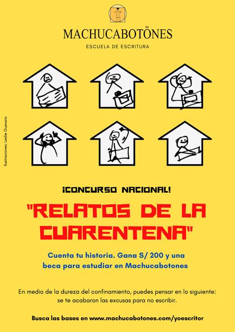 """Participa del Concurso """"Relatos de la cuarentena"""""""