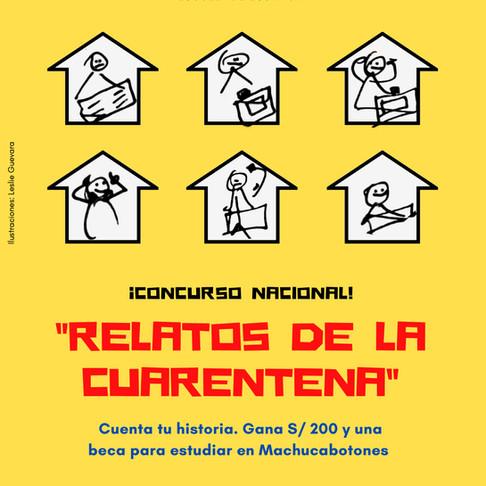 ¡GRACIAS POR PARTICIPAR EN EL CONCURSO 'RELATOS DE CUARENTENA'!