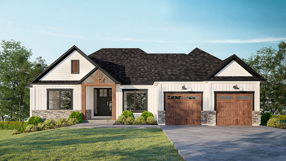 A new custom model home for sale has been planned in the Evendale Ohio community of Mohler Woods