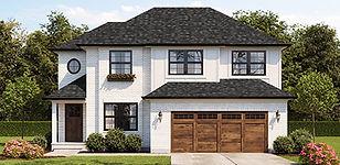 Alston floor plan design-custom two story home in Cincinnati Ohio