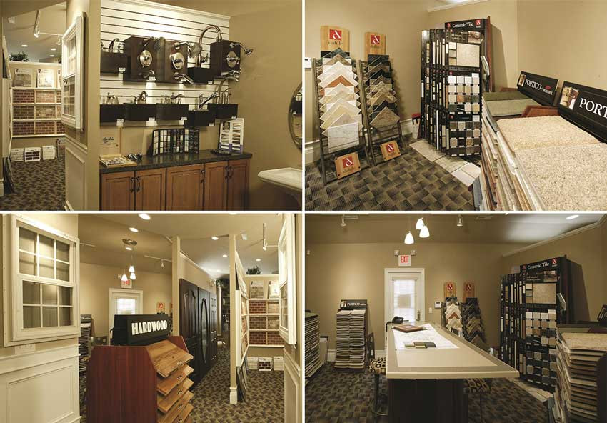 Lucke's custom interior home design center gives you all the tools and resources you'll need to bring your dream home to life.