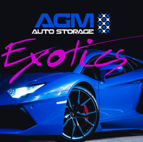 graphic design for agm exotic cars