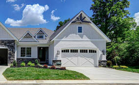 Exterior Elevation | Custom Ranch Townhome Living | The Villas Of Montgomery Ohio