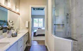 Master Bathroom | Custom Ranch Townhome Living | The Villas Of Montgomery Ohio