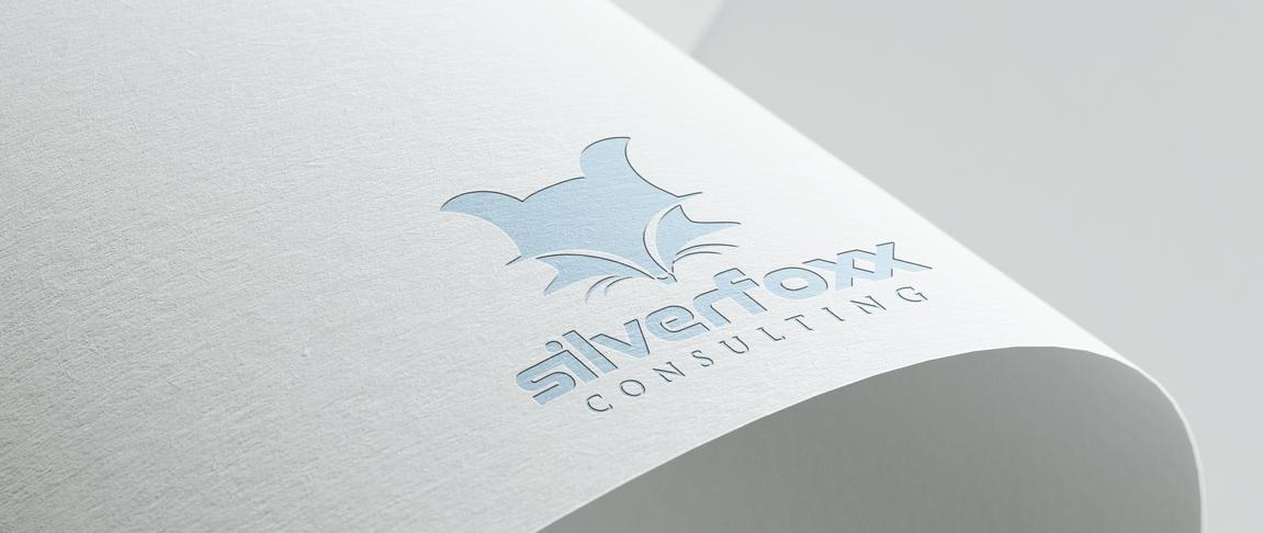 Closeup on Logo-designed-for-Silverfoxx-