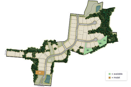 Map-of-Kensington,-a-luxury-custom-home-