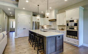 Contemporary Kitchen | Custom Ranch Townhome Living | The Villas Of Montgomery Ohio